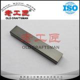 Angepasstes Yg8/Yg11c sortiert Hartmetall-Streifen für Ausschnitt-Hilfsmittel