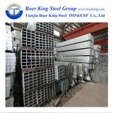 BS1387 tubo d'acciaio quadrato galvanizzato tubo del quadrato della cavità di Gi del codice categoria B