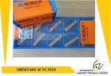 Korloy Mrmn400-M  Nc3020 맷돌로 가는 공구 탄화물 삽입을%s 맷돌로 가는 삽입