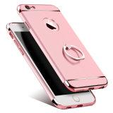 iPhone6 Shell van de telefoon Appel 6splus die PC In drie stadia plateren Harde Shell Gesp 7 van de Vinger Bescherming