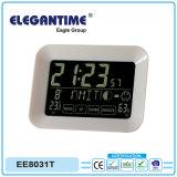 Venda a quente com todas as funções de data e hora da Tela de Toque Dis Reproduzir relógio LCD