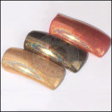 Glitter holográfica Rainbow láser Manicura Nail Art polvo de pigmento de cromo