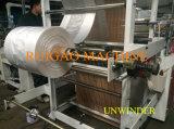 Doppelte Schicht HOCHGESCHWINDIGKEITSPET flacher Plastikbeutel, der Maschinen-Preis bildet