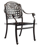 Для использования вне помещений / сад / патио/ плетеной/ литой алюминиевый стул HS3165c