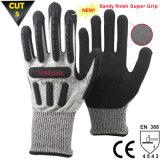 Высокое качество Nmsafety TPR Ударопрочный Механические защитные перчатки
