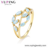 15273 Xuping Fashion Croix avec anneau plaqué or 14K