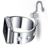 De Riem van het Horloge van Dimonds van de Vervanging van de Juwelen van het Roestvrij staal van de luxe voor Iwatch Series3, 2, 1