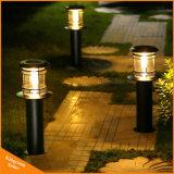 Energía Solar de seguridad Kingconn poste de luz LED Iluminación lámpara de Jardín