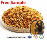 De gerecycleerde Plastic Gele Kleur Masterbatch van Korrels HDPE/LDPE/LLDPE