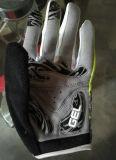 Велосипеда напольных спортов перчаток перста Oemsoft Lycra перчатки полного задействуя