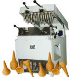 Fabricante aprobado del cono de helado del acero inoxidable del Ce