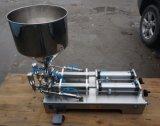 Hand/Semi Auto het Vullen van het Water/van de Room/van de Saus Machine