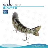 Attirails de pêche durs peu profonds de pêche joints multi d'attrait de Swimbait d'amorce basse réaliste d'attrait