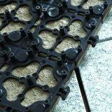 Tapis anti-calorique de carrelages de plaza de granit d'évacuation de l'eau de balcon de glissade bon marché normale européenne de la CE non