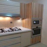 Gabinete de cozinha moderno da mobília do projeto da forma