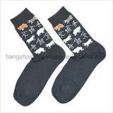 Сверхсчетным носки жаккарда способа ретро сделанные по образцу типом яркие