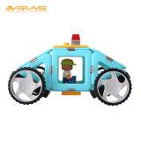 Preschool sagesse magnétique jouets Puzzle 3D de blocs de raccordement magnétique