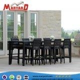 Presidente de la competencia de la barra de Comedor y Cafetería Bar parte silla con madera de teca/aluminio/acero inoxidable