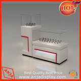 Shop Jewelry Display Counter Showcase /Glass Display Boxes for Retail Blinds/Knell Tower Display Cabinet