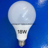 3W, 5W, 7W, 9W, 12W, 15W, luz de bulbo do diodo emissor de luz 18W