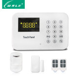Home Security Monitor LED de alarme sem fio PSTN com teclado de toque