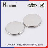 Высокое качество Strong N35 металлокерамические NdFeB постоянные диск неодимовый магнит