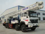 De diesel Gedreven Diepe Vrachtwagen Opgezette Installatie van de Boring van de Put van het Water