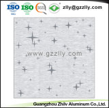 600*600 démontable de mise en carreaux de plafond décoratif en métal
