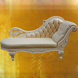 Klassieke Chaise van het Leer Zitkamer (90B)