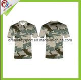 Dreamfox fertigen Breathable Schnell-Trockner Polo-Hemd kundenspezifisch an