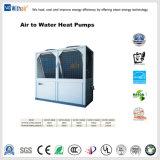 Тепловой насос с водяным охлаждением воздуха для охлаждения и обогрева решений
