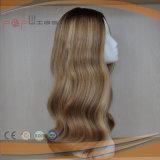De golvende Mooie Pruik van het Menselijke Haar (pPG-l-0650)