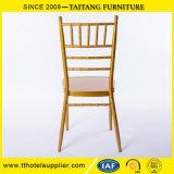 호텔 결혼식 사건 쌓을수 있는 Tiffany 의자 Dinning 의자를 위한 금속 Chiavari 명확한 의자