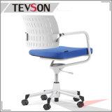 사무실 의자 상업적인 가구 플라스틱 낮은것 뒤 팔 의자