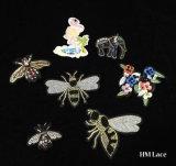 모충 버그 패치 Appliqu&eacute가 결정에 의하여 수를 놓았다; , 책가방을%s 패치, 곤충 패치, 의복, 재킷을%s 나는 꿀벌