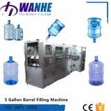 5 galones automático que beben la embotelladora del agua mineral