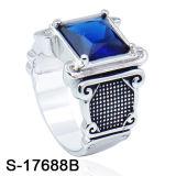 Nuevo modelo de anillo de plata la fábrica de joyas Hotsale