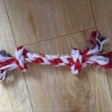 De kleine Katoenen van het Huisdier bijkomende Goedkope Hond van de Kabel kauwt Stuk speelgoed