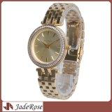 Reloj de las mujeres, relojes de lujo del cuarzo, señora impermeable reloj del acero inoxidable