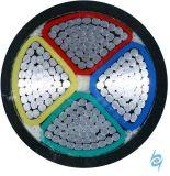 Deux coeurs d'aluminium Câble alimentation câble gainé isolés en polyéthylène réticulé