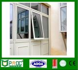 Ventana de aluminio estándar del toldo de Australia/ventana de aluminio del oscilación