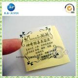 El mejor fabricante profesional de China pela apagado la etiqueta autoadhesiva (JP-S094)