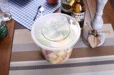 O plástico leva embora o recipiente de alimento 500ml