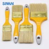 Щетка краски щетинки деревянной ручки чисто для украшения
