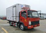 Sinotruk 3t al camion refrigerato 5t di conservazione frigorifera del camion 4X2 del camion