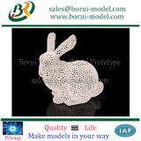 시제품을 인쇄하는 삽화 SLA를 인쇄하는 3D