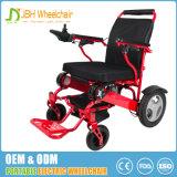 Cadeira de rodas fácil de pouco peso popular da energia eléctrica da dobra