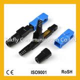 China Factory sc-APC Conjunto Campo rápido de Fibra Óptica Conector Rápido