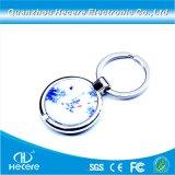 Kundenspezifischer fördernder Metallschlüsselketten-Schlüssel Fobs RFID