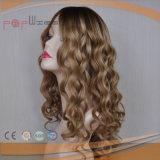 Peluca superior de seda de la onda estupenda (PPG-l-0534)